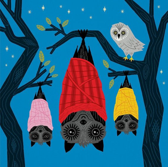Hey, I found this really awesome Etsy listing at https://www.etsy.com/listing/176320327/halloween-series-bats-in-blankets