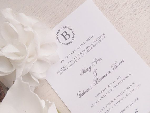 17 best { WEDDING ITINERARIES } images on Pinterest Wedding - formal invitation style