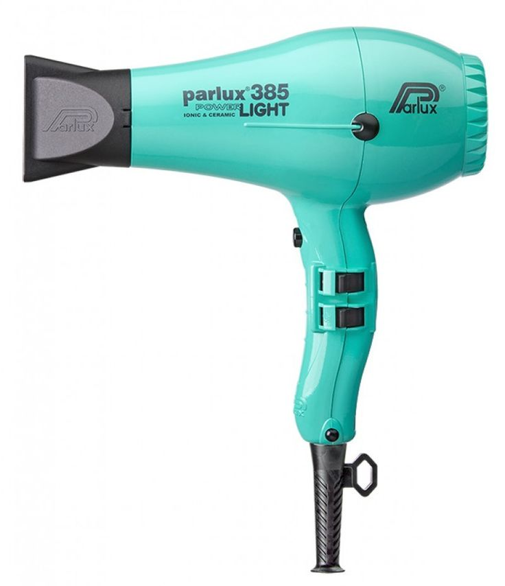 Nuevo secador profesional Parlux 385 Light en color turquesa
