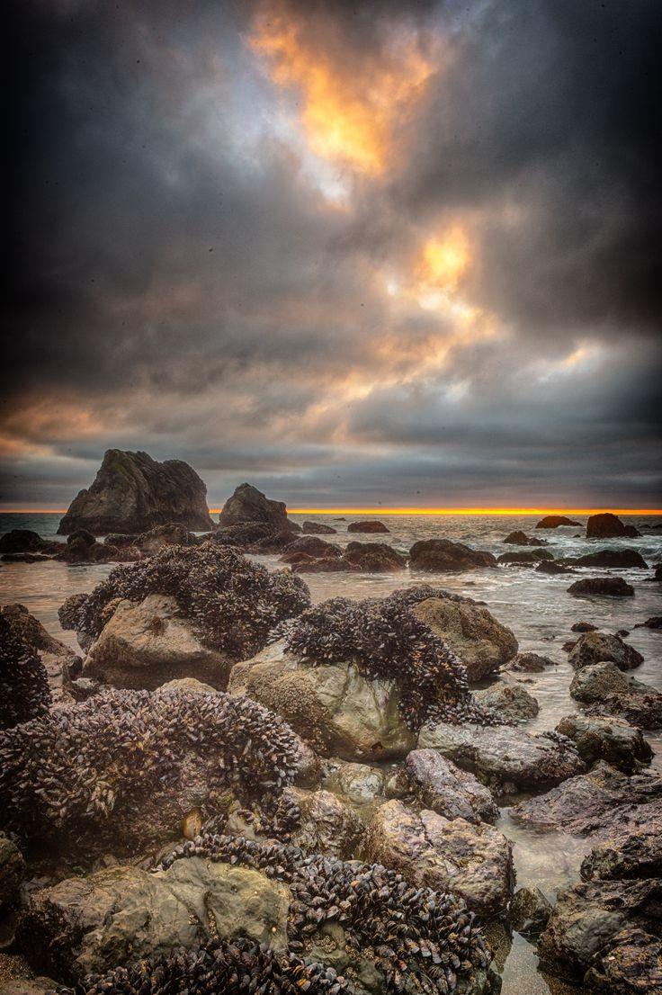 Sunset at Schoolhouse Beach by Steve Sinnock on 500px