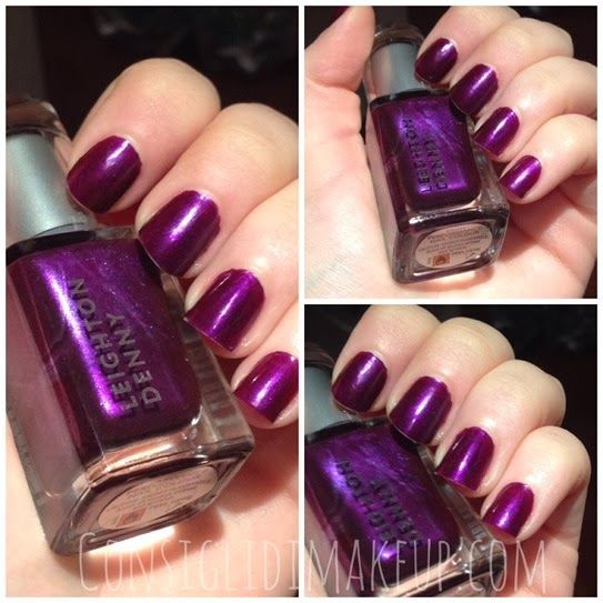 Leighton Denny Nail Lacquer in REBEL!