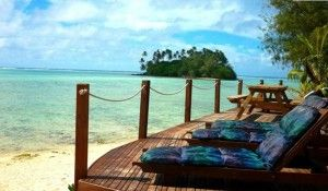 Muri Beach Resort in the Cook Islands has great snorkelling and kayaking.