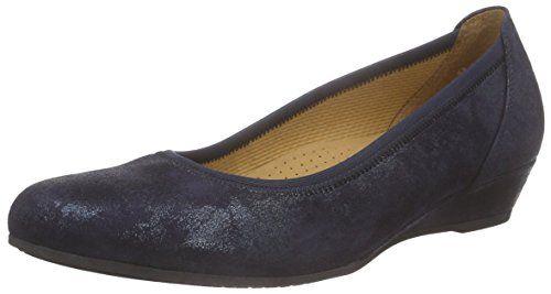 Gabor Shoes 42.690 Damen Durchgängies Plateau Ballerinas ,Blau (96 nightblue) ,38 EU - http://on-line-kaufen.de/gabor/38-eu-gabor-damen-ballerinas-13