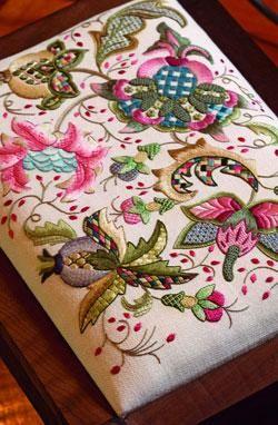 Bountiful Season by Hazel Blomkamp.  Kit available for purchase.  http://www.australianneedlearts.com.au/bountiful-season-hazel-blomkamp#