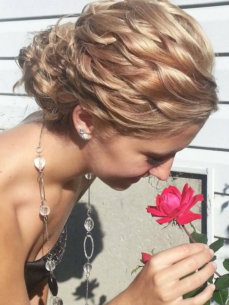 1000 ideas about loose curly updo on pinterest side bun