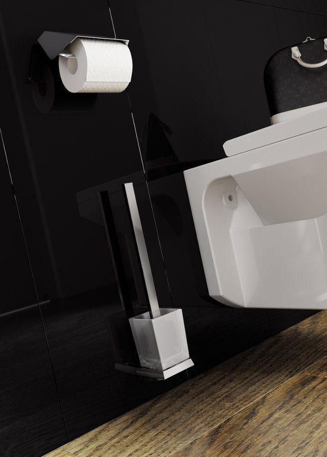 SOUL držák toaletního papíru s krytem, chrom, SAPHO E-shop