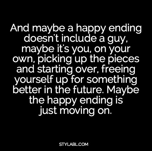 The Real #Happy #Ending