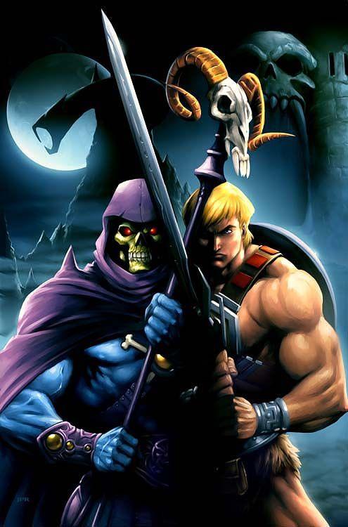 Esqueleto VS He-Man