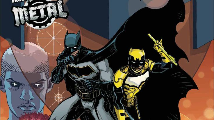 Review - Batman and The Signal #2: Metal Conspiracy - https://geekdad.com/2018/02/review-batman-signal-2-metal-conspiracy/?utm_campaign=coschedule&utm_source=pinterest&utm_medium=GeekMom&utm_content=Review%20-%20Batman%20and%20The%20Signal%20%232%3A%20Metal%20Conspiracy