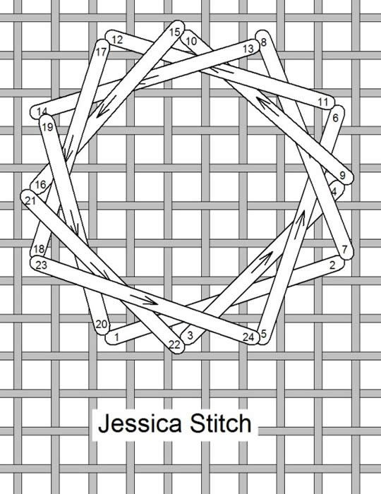 Needlelace - Stitch of the Month June