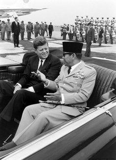 Sukarno & John F. Kennedy