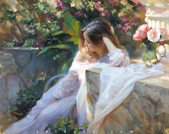 QUIETNESS, painting