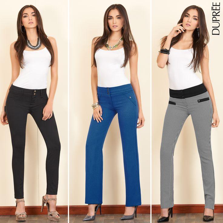 Elige tus pantalones favoritos. Moda femenina DUPREE