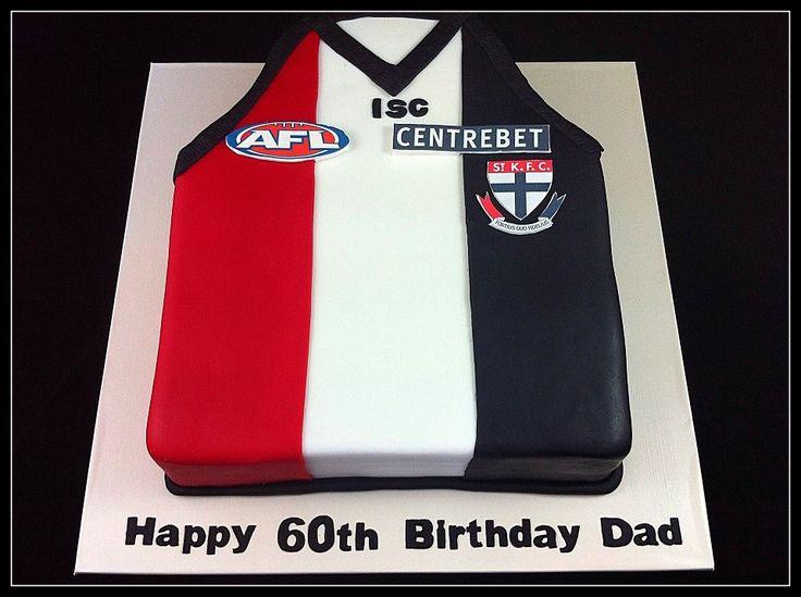 St Kilda AFL Jumper cakepins.com
