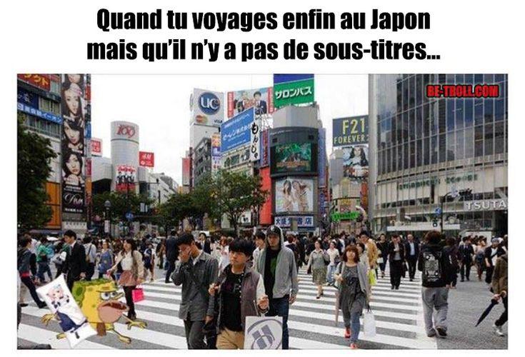 Quand tu voyages enfin au Japon...