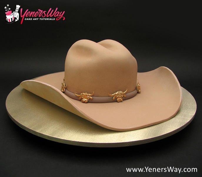 Cowboy Hat Cake Pops