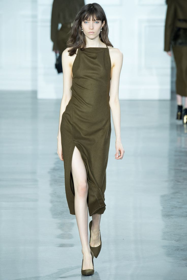 The color! Hope the back is nice too!  Jason Wu Fall 2015 Ready-to-Wear - Collection - Gallery - Style.com