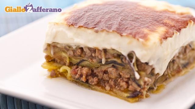 Moussaka ricetta in italiano da giallo zafferano