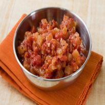 Pineapple Chutney: Sweet and spicy relish of #pineapple, vinegar and cinnamon.