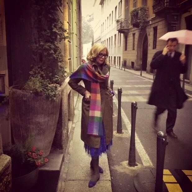 Роселла Джардини – бывший дизайнер модного дома Moschino – она сногсшибательна!   Мой мир в фотографиях