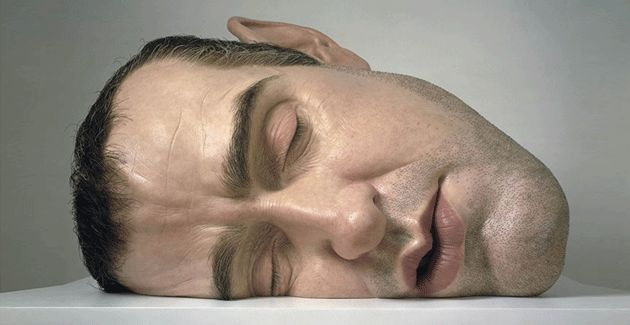 Ron Mueck is an Australian hyperrealist sculptor working in the United Kingdom, known for his hyper r