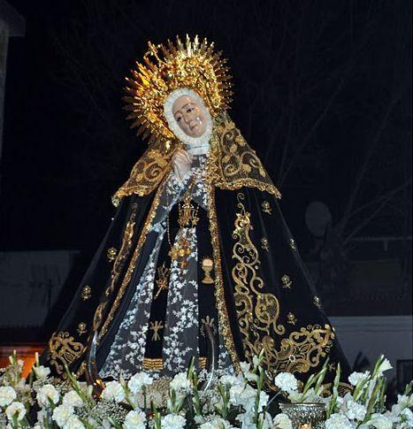 Virgen de Nuestra Señora de la Soledad - Badajoz (España)