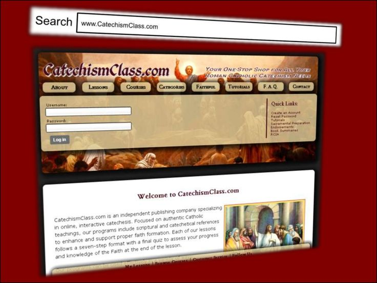 CatechismClass.com: Online Catholic Religious Education