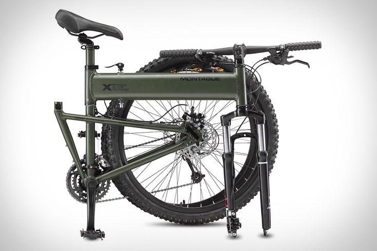 """Paratrooper: la bicicletas de paracaidistas y todo terreno.  Los de Montague sacan al mercado Paratrooper, una bicicleta plegable, resistente y lista para la acción, """"diseñadas para caer del cielo y hacerle frente a cualquier tipo de terreno"""".  http://blogueabanana.com/estilo-de-vida/113-estilo/1167-paratrooper.html"""