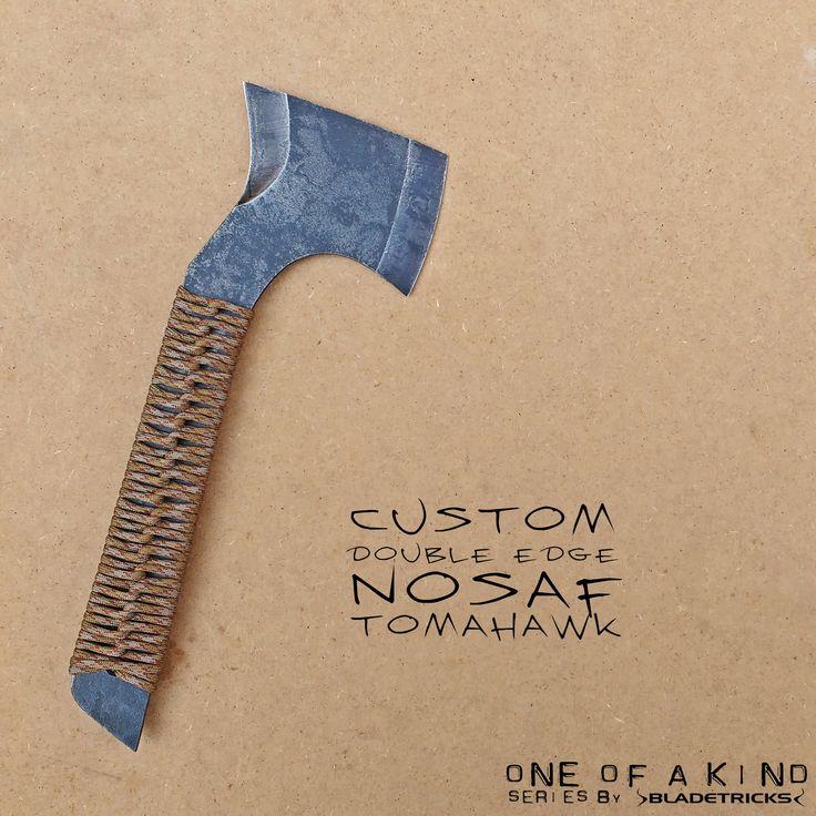 SOLD - Bladetricks Nosaf Subcompact tomahawk #edc #axe #Tactical