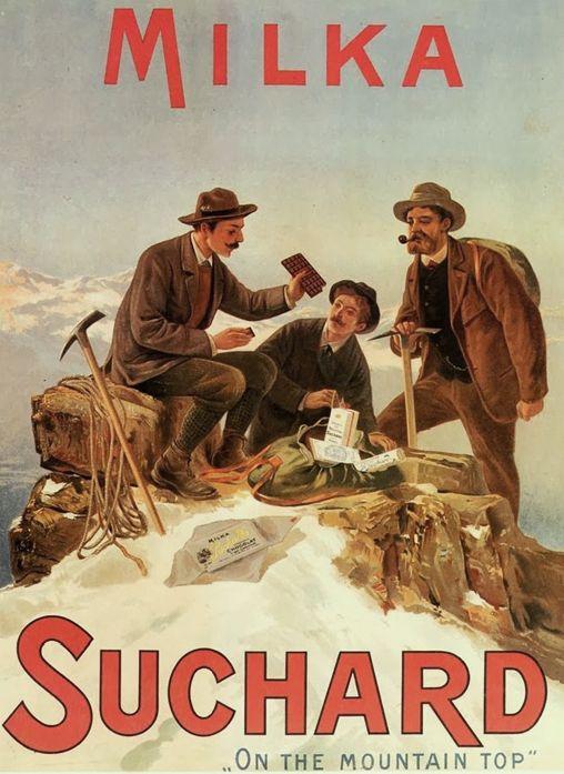 z- Reward & Energy After Mountain Climb (Suchard Chocolate- ad) -2b