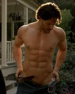 Alcide in True Blood - Let's face it, this specific scene was actually quite enjoyable to watch !!!