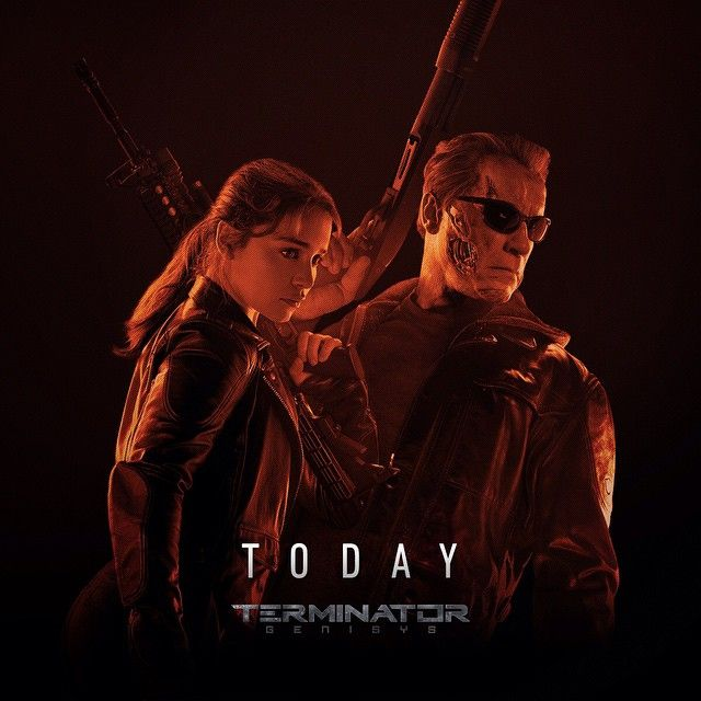 Judgment day has arrived. Who are you seeing #TerminatorGenisys with? Tag them now!