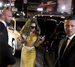 Lady Gaga: Cuando se te olvida por un momento que eres famosa.
