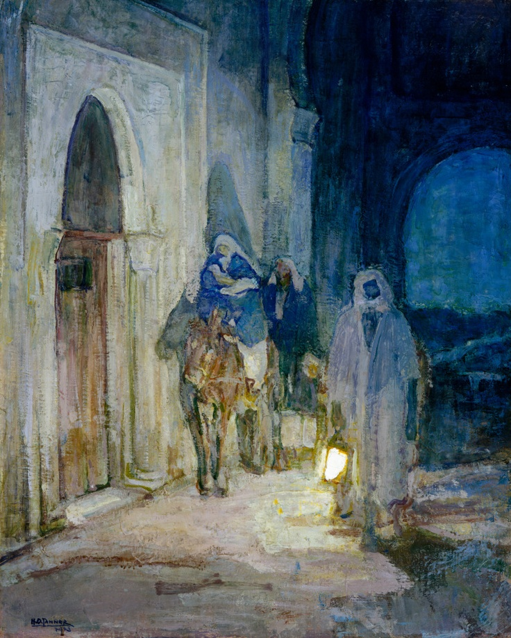 flight into egypt minerva teichert