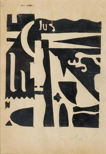 Xilografia - Julius Evola