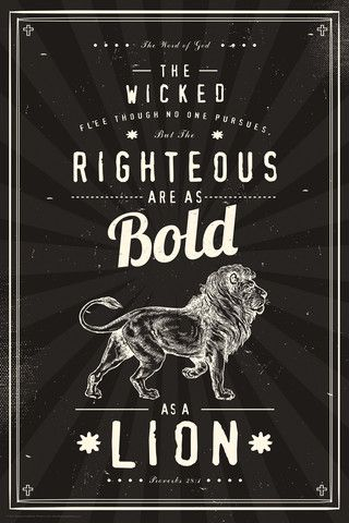 Wicked Flee - Christian Posters