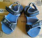NIKE ACG velcro blue/black slip on athletic water sport sandals shoes 1Y opulent - http://shoes.goshoppins.com/boys-shoes/nike-acg-velcro-blueblack-slip-on-athletic-water-sport-sandals-shoes-1y-opulent/