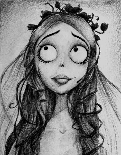 the corpse bride awesome drawing tattoo pinterest