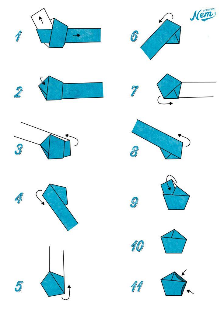 DIY étoile en papier