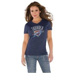 @OKCThunder #okcthunder  Navy Women's Primary Logo Tri Blend V Neck T-Shirt- by Alyssa MilanoOkcthund Navy, Neck T Shirts, Nba Playoff, Alyssa Milano, Women Primary, Navy Women, Blends, Primary Logo, Playoff 2012