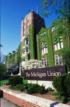 The Michigan Union on the University of Michigan's campus in Ann Arbor, MI http://visitannarbor.org