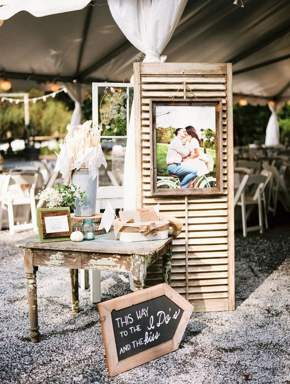 Rustic DIY Farm Reception Decor / http://www.deerpearlflowers.com/rustic-outdoor-wedding-ideas-from-pinterest/