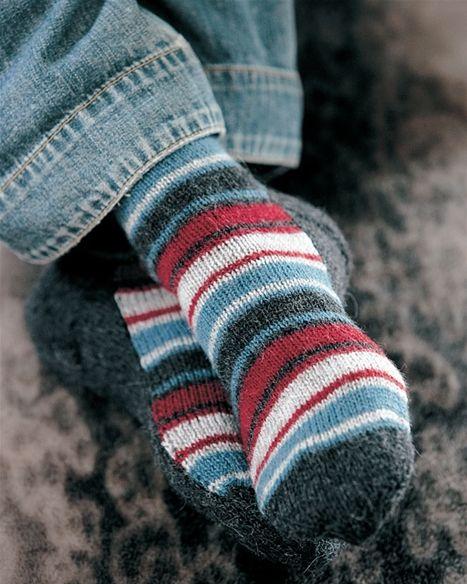 Hvad med et par lune sokker til far?