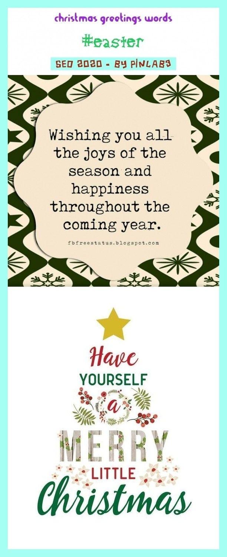 Christian Little Christmas 2020 Christmas greetings words #christmas #greetings #words