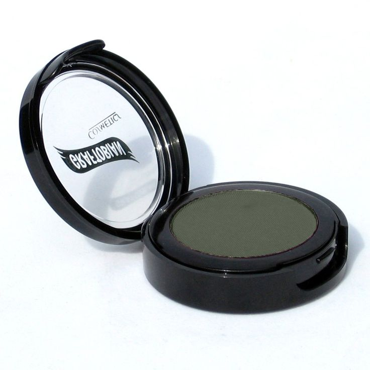 Graftobian Ultrasilk Matte Eye Shadow (Dark Jungle Green). Perfect for HD television and print. Soft and silky formula with all non reflective ingredients. Yields a beautiful finish. Best HD makeup on the market. Made in the USA.
