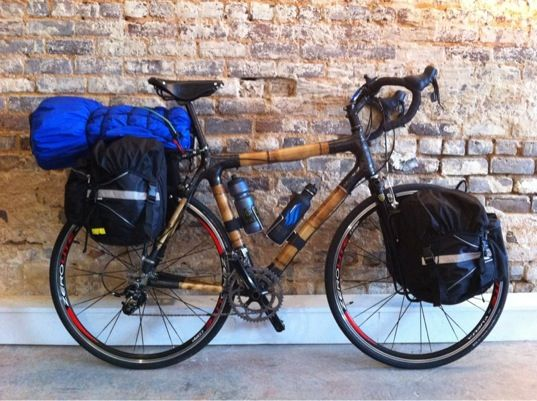 Bamboo Bike. I'm going to build one for myself in Greensboro, AL