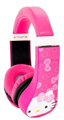 Hello Kitty Kid Safe Over the Ear Headphone w/ Volume Limiter (30309) Hello Kitty - Need headphones for computer lab - Rank #1 http://www.amazon.com/dp/B00ELPIYZS/ref=cm_sw_r_pi_dp_JbW0tb08N3MS22TR