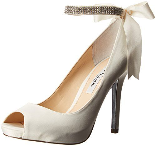 Nina Women's Karen-LS Dress Pump,Ivory,7 M US Nina http: