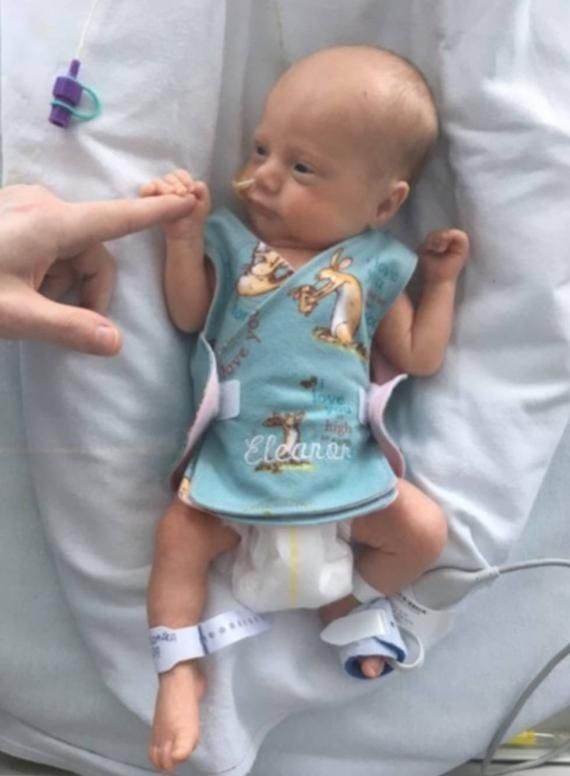 Guess How Much I Love You NICU incubator vest Micro preemie premature baby sizes