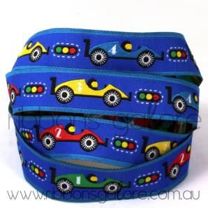 racing cars ribbon (18mm wide) [per metre] : Ribbons Galore, your online store for the best ribbons #ribbon #ribbons #cars
